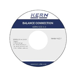 Kern Software for PC, med kabel  SCD-4.0